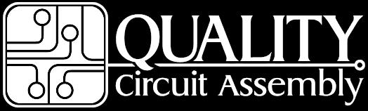 QCA logo white